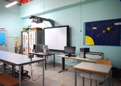 Il laboratorio di scienze